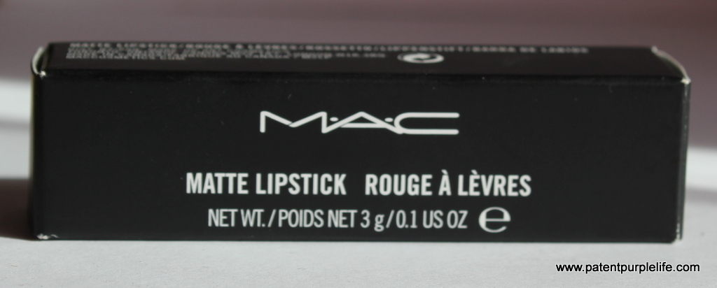 MAC Lipstick Box
