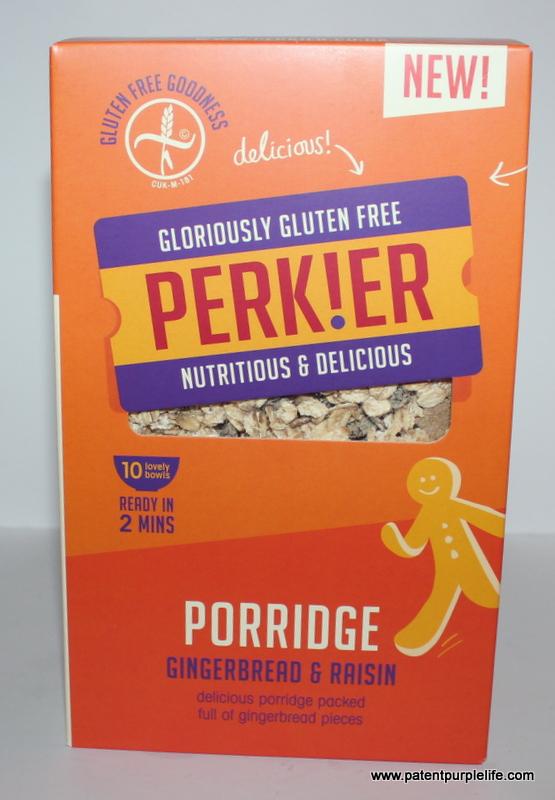 Perkier gingerbread porridge