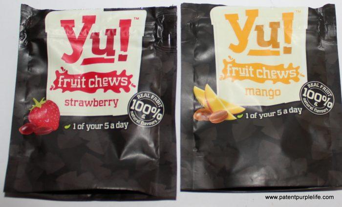 Yu Just Fruit Chews