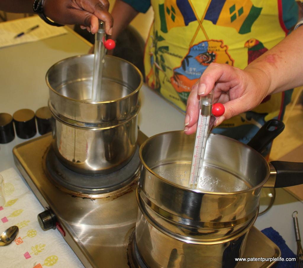Baldwins making a cream