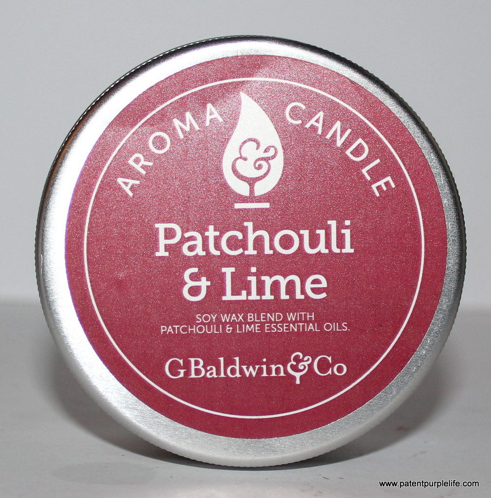 Baldwins Patchouli and Lime