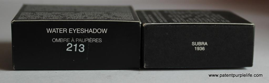 NARS vs KIKO Wet Dry Shadows