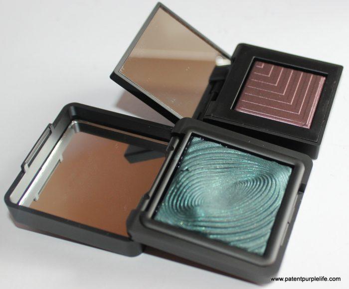 NARS vs KIKO Wet Dry Shadows Subra