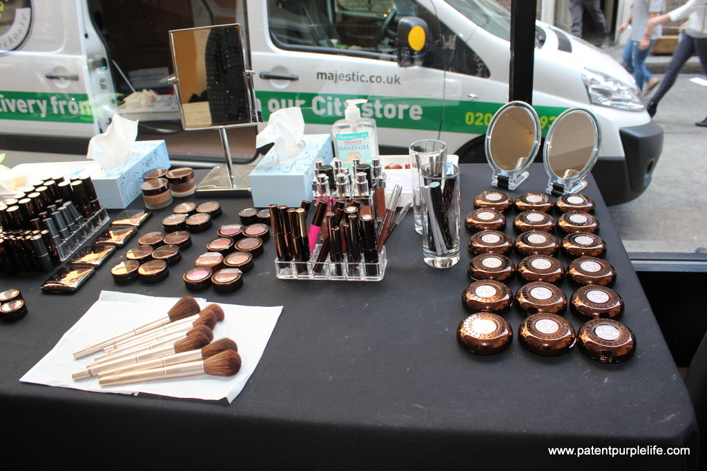 Fashion Fair make up station