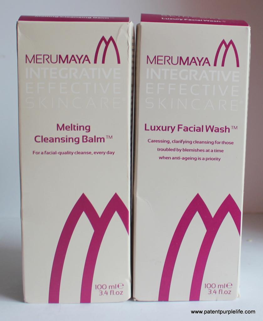 Merumaya Melting Cleansing Gel and Luxury Facial Wash