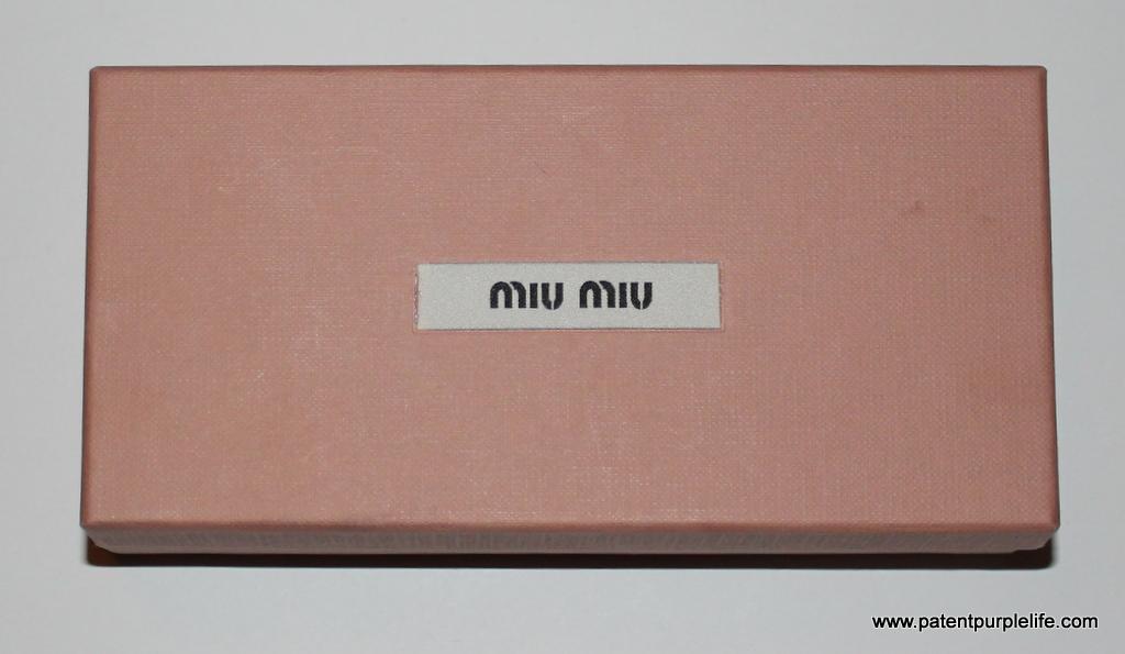 Miu Miu box