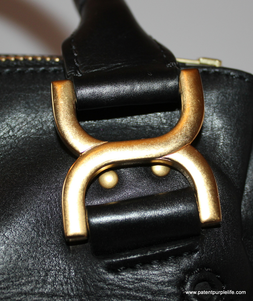 Chloe Marcie Bag Hardware Detail