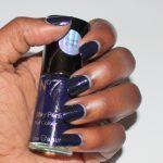 No 7 Blue Patent Nail Enamel
