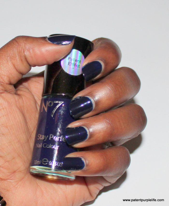 Talon Tales: No7 Patent Effect Stay Perfect Nail Colour - Patent ...