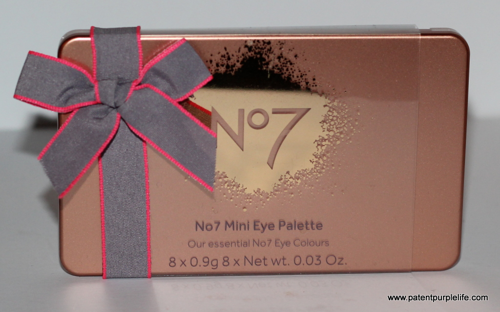 Number 7 Mini Eye Palette