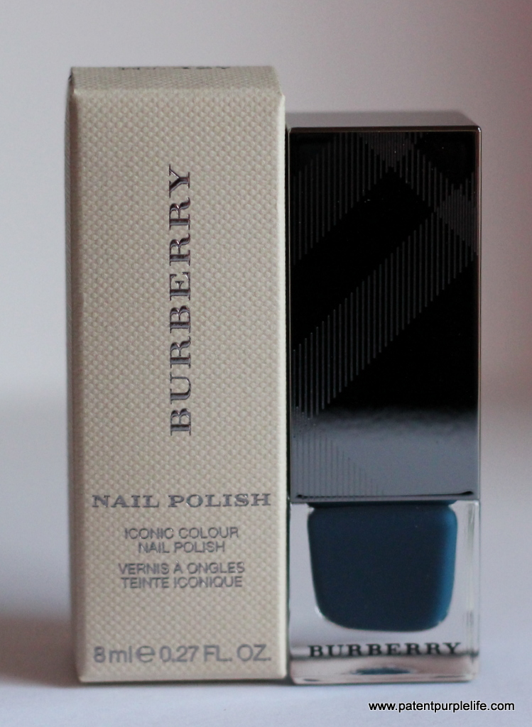 Burberry Teal Blue 427 Nail Varnish