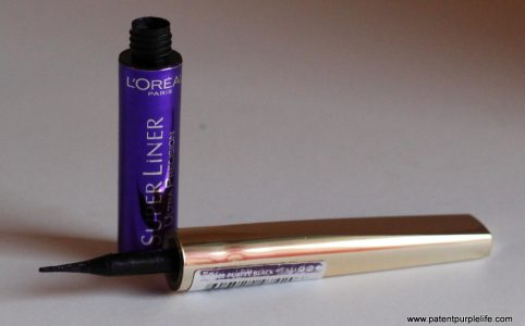 L'Oreal Paris Superliner in Purple Black