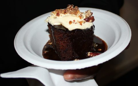 Taste of Winter Sticky Date Pudding from Jamie Olivers Barbacoa