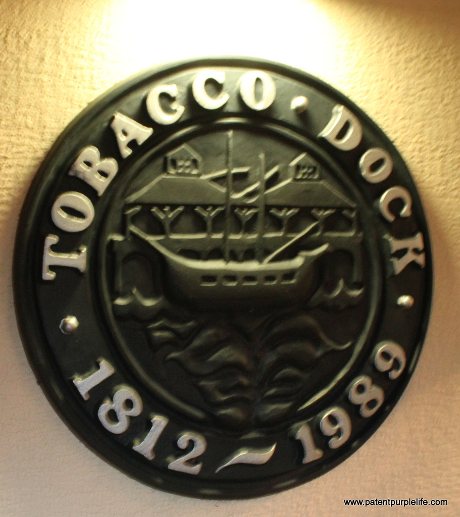 Tobacco Dock Plaque Taste of Winter