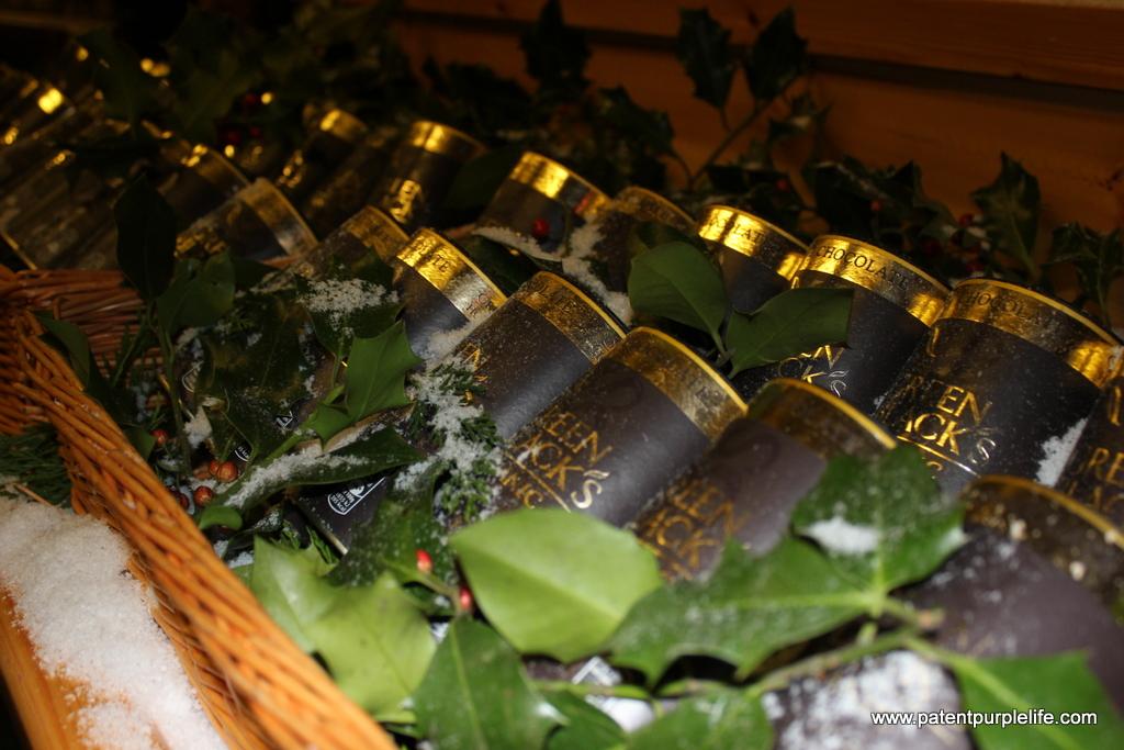 Taste of Winter Green and Blacks
