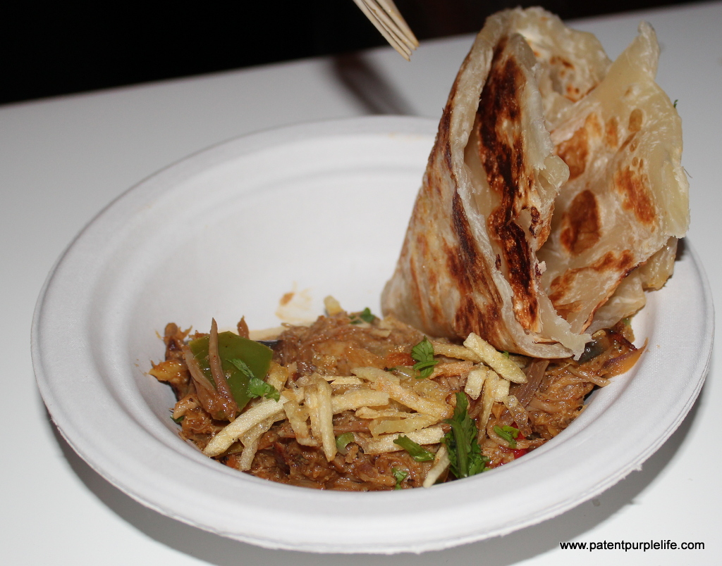 Taste of Winter Pulled Pork and Roti