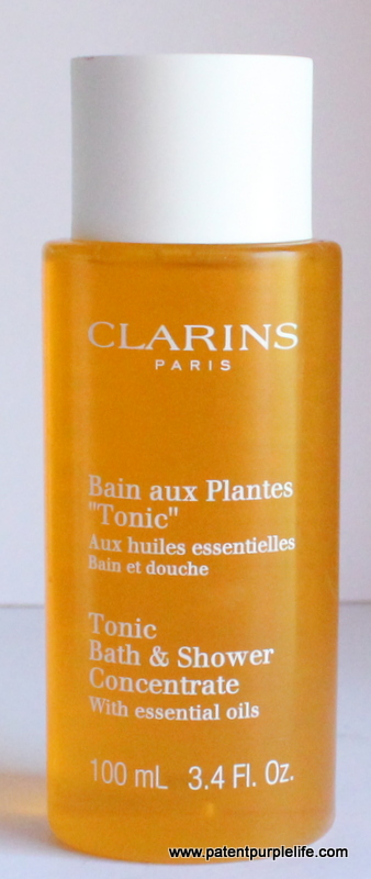 clarins tonic bath and shower concentrate patent purple duschgel clarins tonic bath shower concentrate