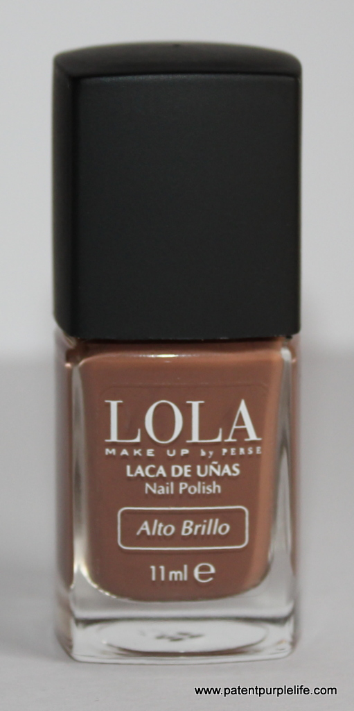 Lola Caramel Brown Nail Polish