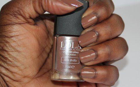 Lola Caramel Brown Nail Polish