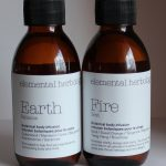 Elemental Herbology Fire and Earth Botanical Body Infusions