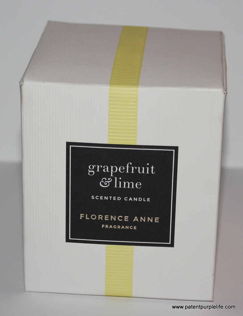Florence Anne Grapefruit and Lime Candle