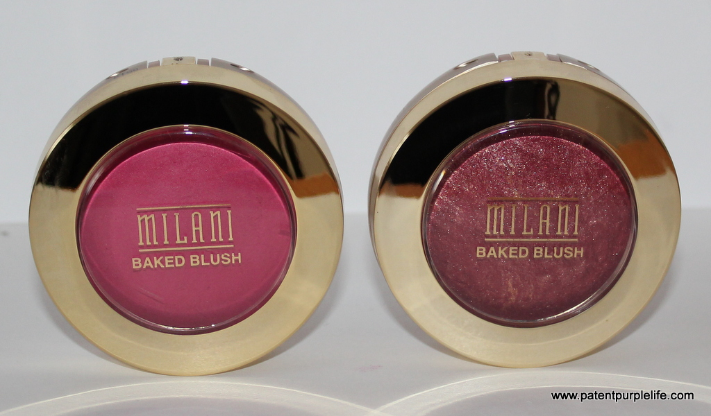 Milani Bella Rosa and Red Vino Baked Blushers