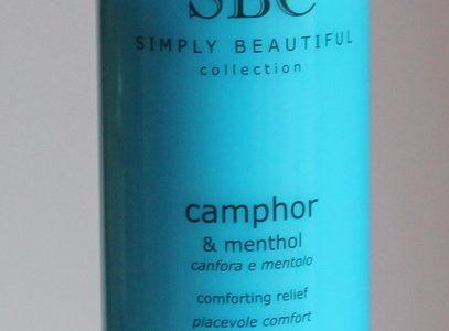 SBC Camphor and Menthol Massage Gel