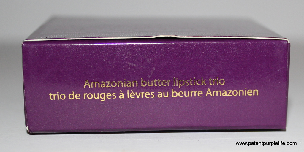 Tarte Amazonian Butter Lipsticks Rose, Soft Coral, Golden Pink