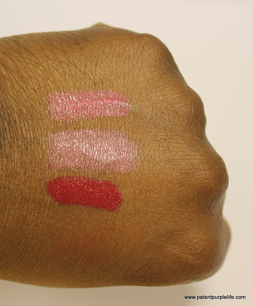 GOSH SS15 Forever Lip Shine Swatches WoC