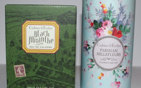 Crabtree and Evelyn Black Absinthe and Parisian Millefleur