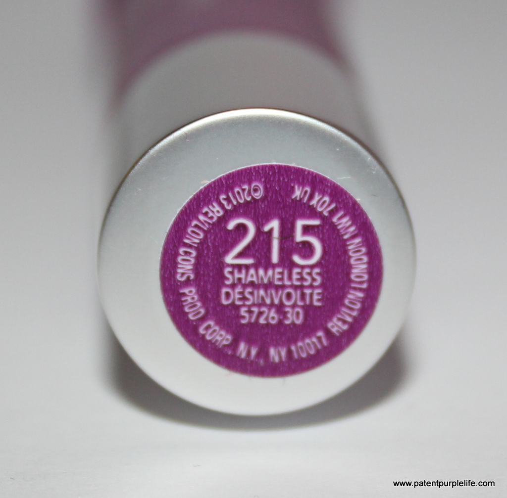Revlon Colourburst Matt Lip Balm in Shameless (215))