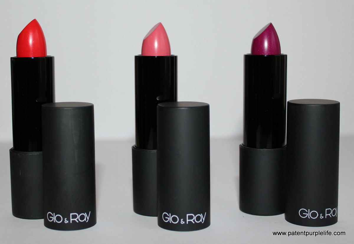 Glo and Ray Shimmer Shimmer Lip Colour Set