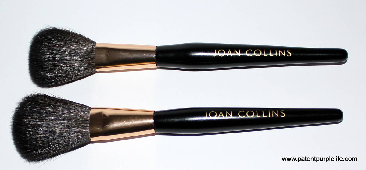 Joan Collins Timeless Beauty Powder and Blusher Brushes