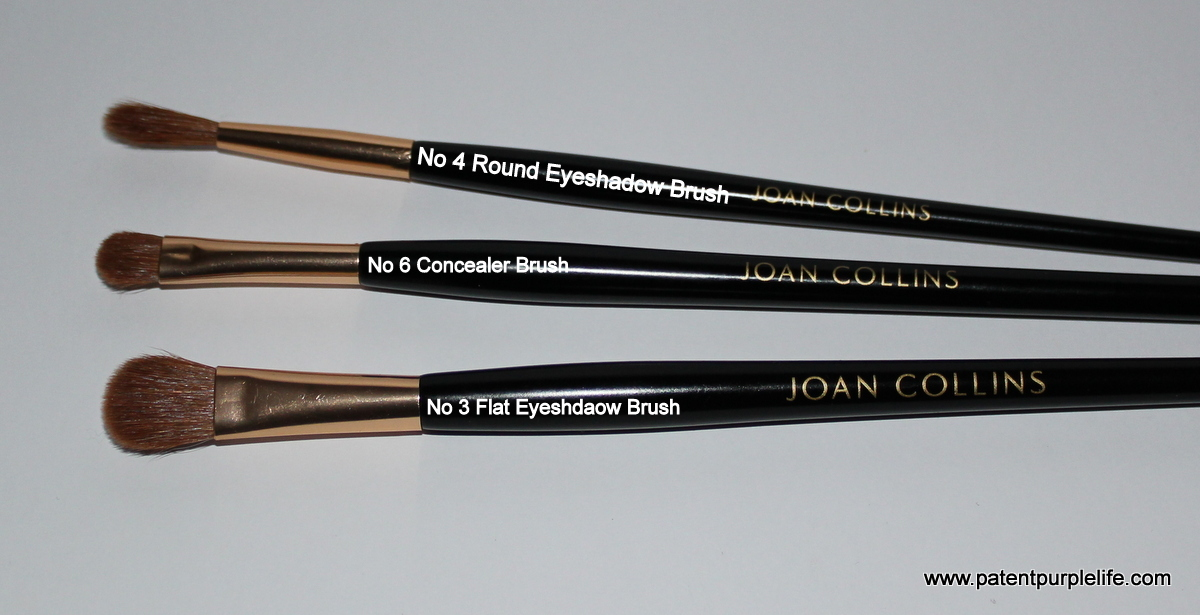 Joan Collins Eyeshadow and Concealer Brushes