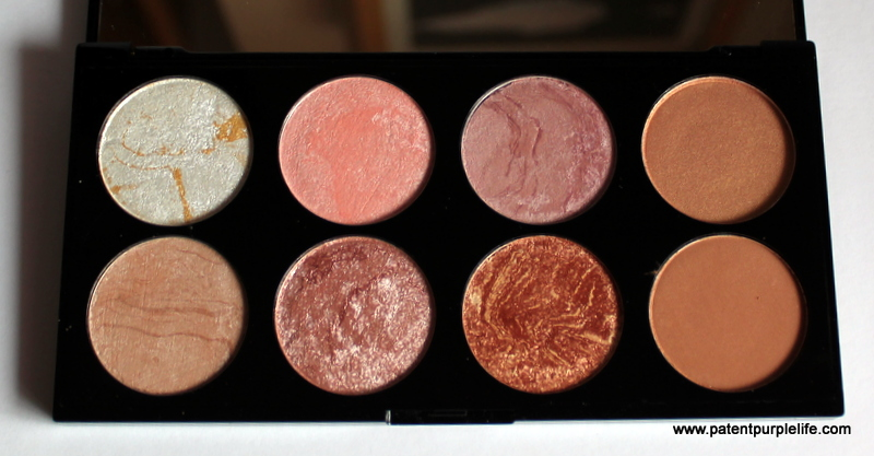 Golden Sugar Ultra Blush Palette Review And Swatches