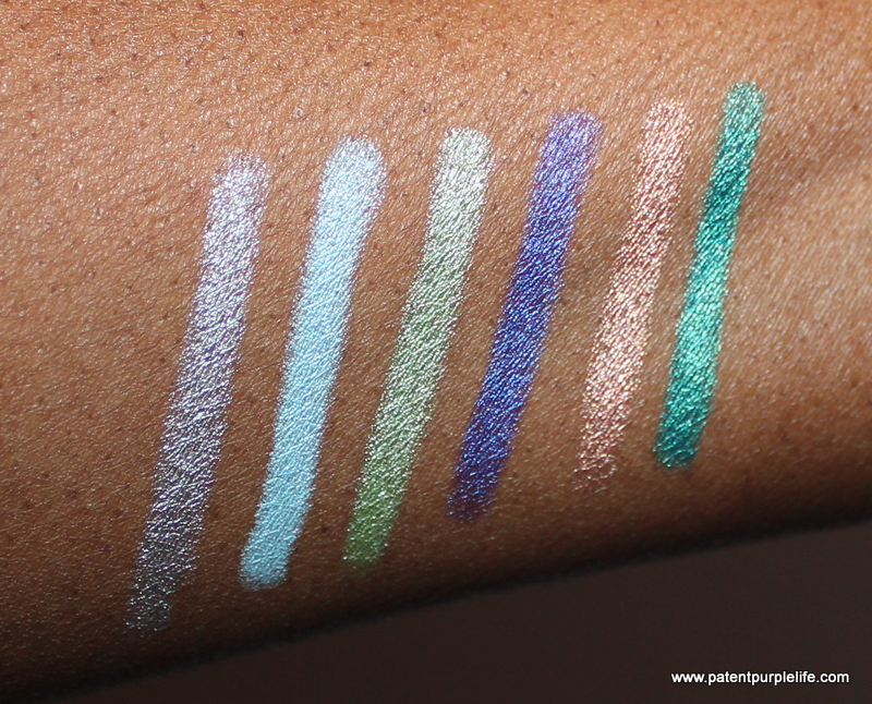 NYX Jumbo Pencils Dark Skin Swatches