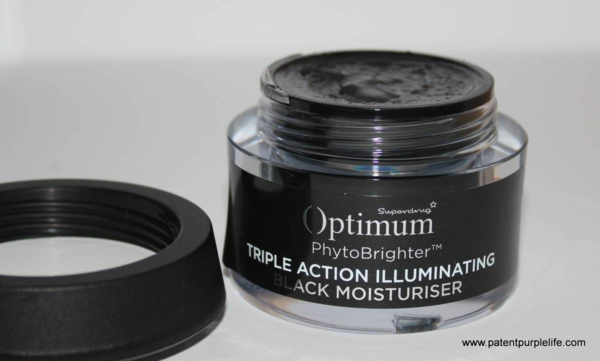 Optimum Black Moisturiser