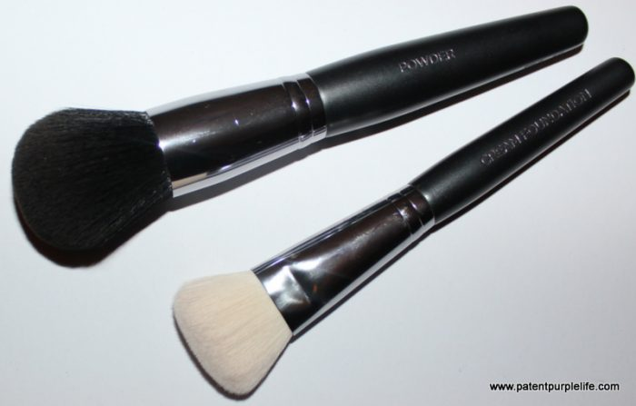 Cover FX Powder and Cream Foundation Brushes