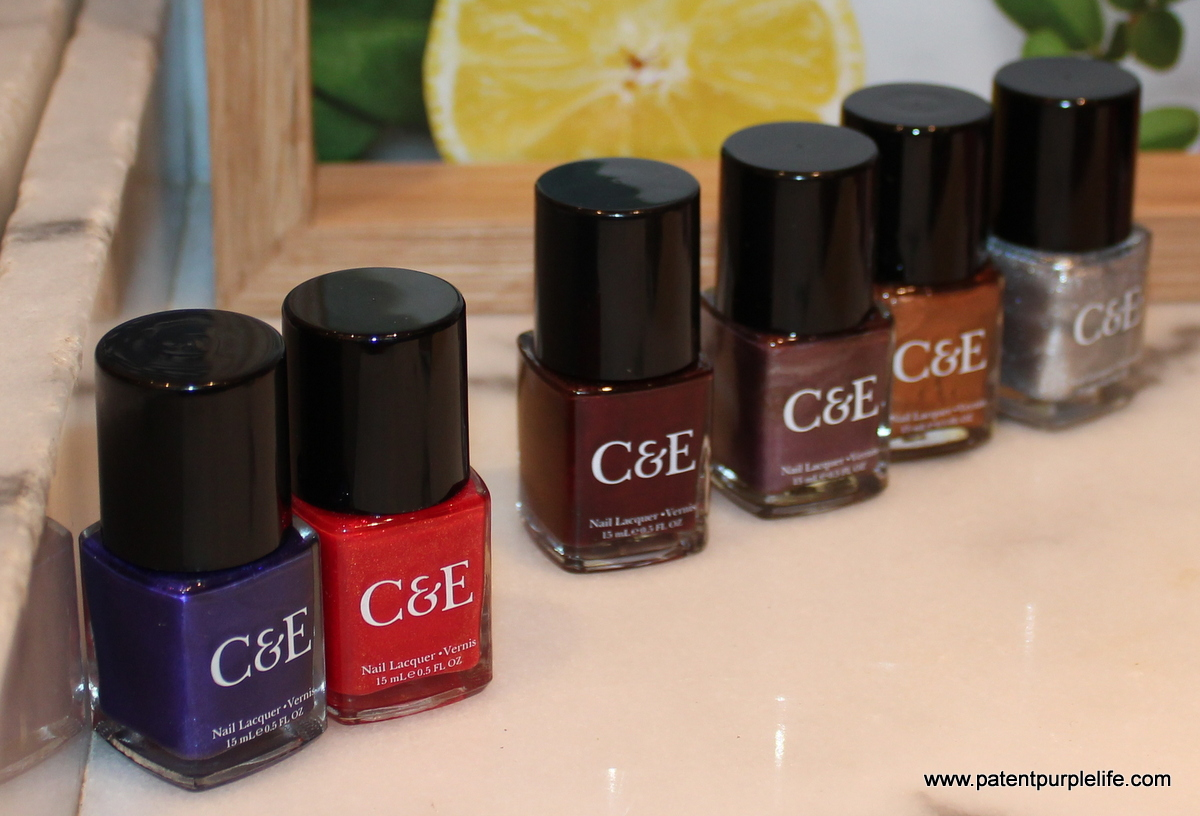 Crabtree and Evelyn AW2015 Nail Colours