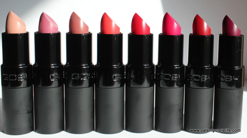 GOSH Matt Velvet Lipstick (12)