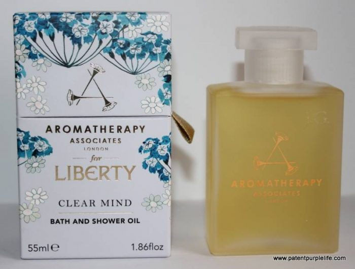 Clear Mind Bath and Shower Oil