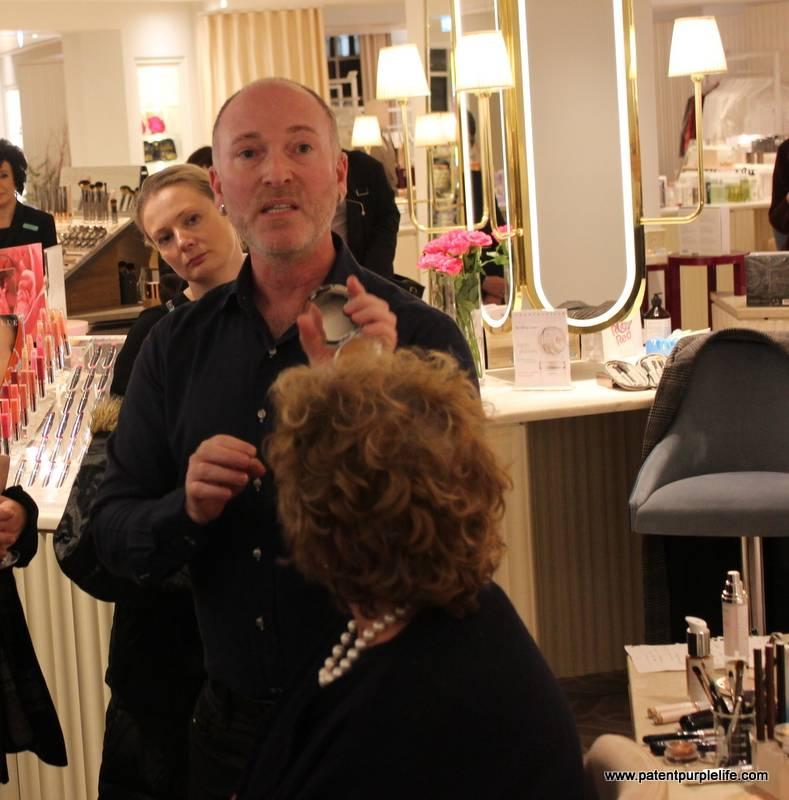 Daniel Sandler with Cosmetics a la Carte