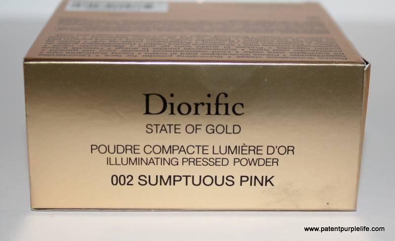 Dior Sumptuous Pink