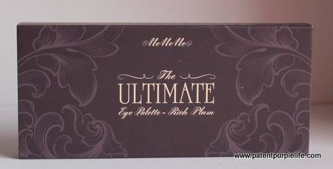 Me Me Me Ultimate eye Palette Rich Plum