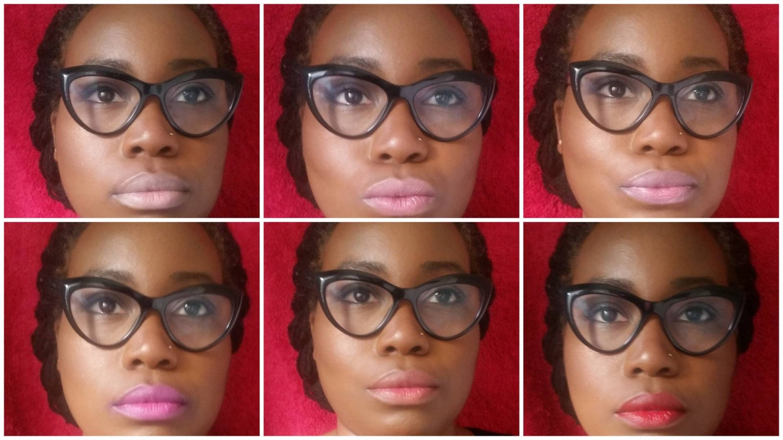 NYX Butter Lipsticks Swatches (Dark Skin)