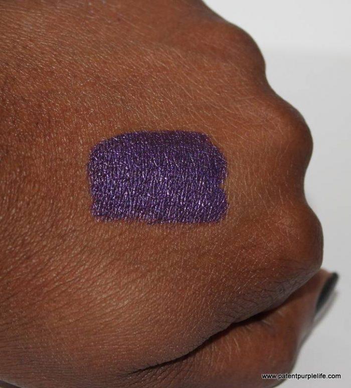 Polished Purple Swatch (Dark Skin)
