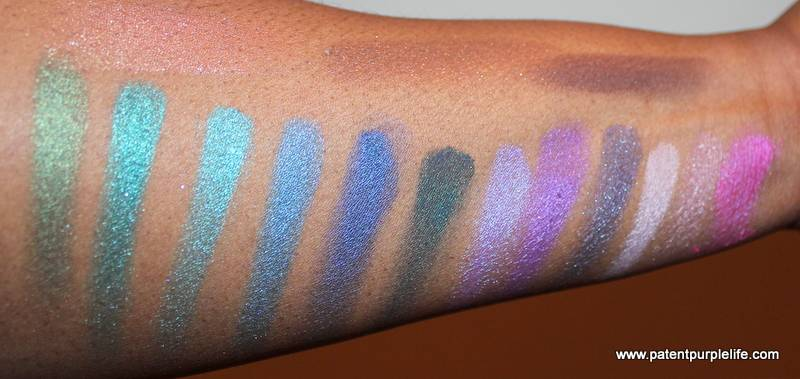 Dark Skin Swatches Urban Decay Spectrum Palette