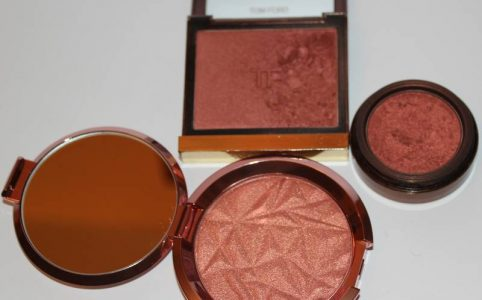 Copper Blushers, Becca, Tom Ford and Fashion Fair