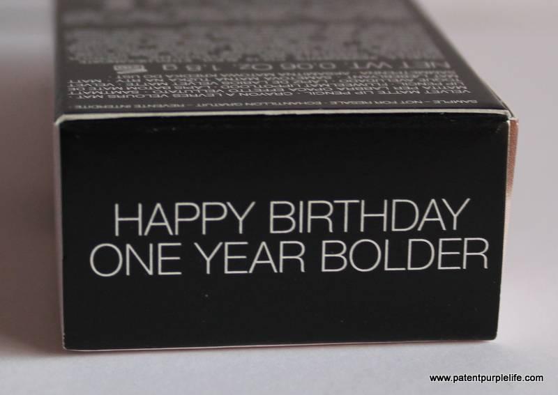 NARS Sephora birthday present