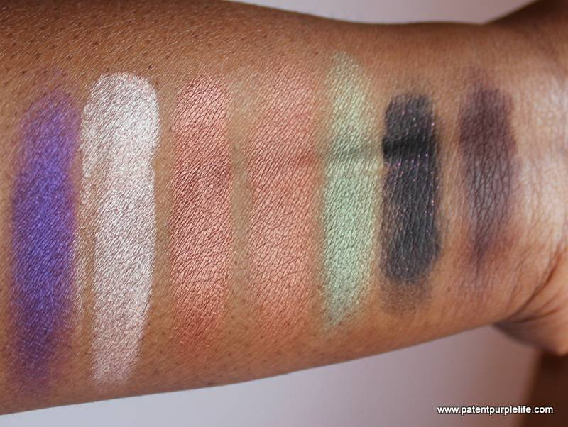 Anastasia Beverly Hills Self Made Palette Row 2 Swatch